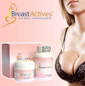 Breast Actives natural breast enhancement